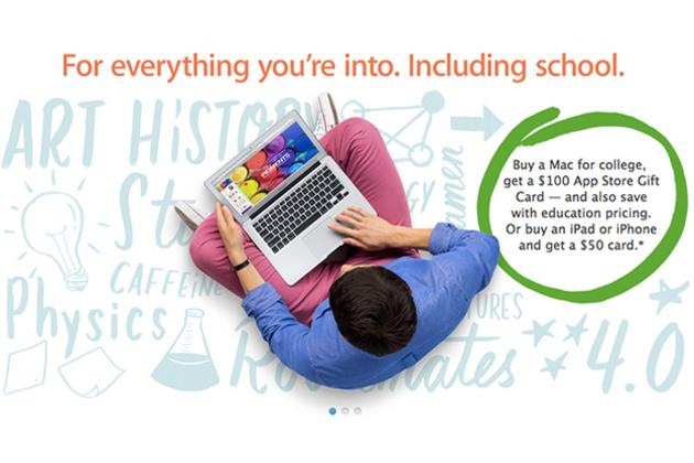 苹果教育优惠9月就要结束,你的苹果电脑买好了吗?-苹果优惠券